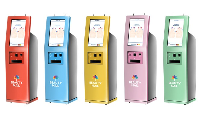 Nail Art Sticker Printing Kiosk