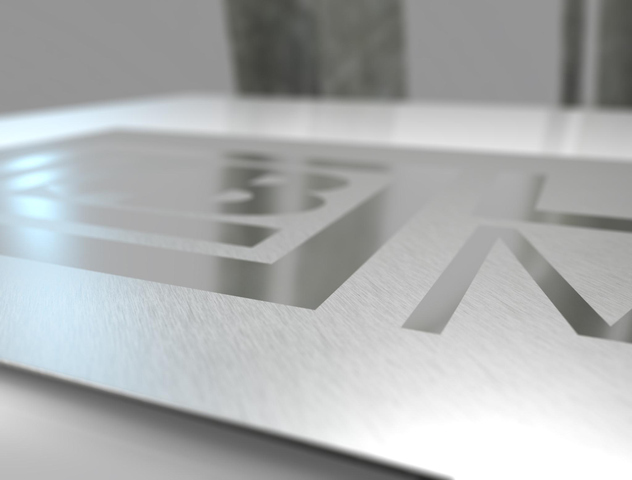 Nerezová ocel broušená: Technologii broušení provádíme na supermirror (zrcadlový) plech. Na povrchu ...