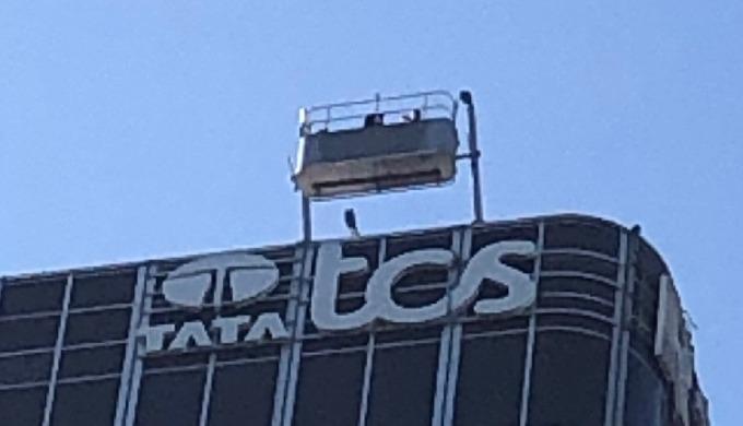 Actif Signal réalise les Enseigne de TATA TCS - La défense