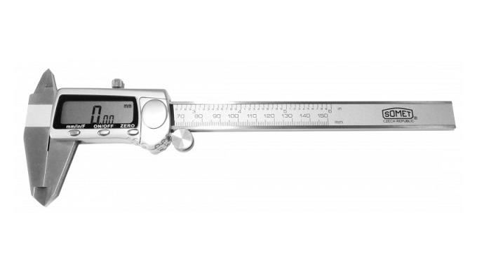 Posuvné měřítko digitální PM 150 ; PM 200 ; PM 300 kovový displej