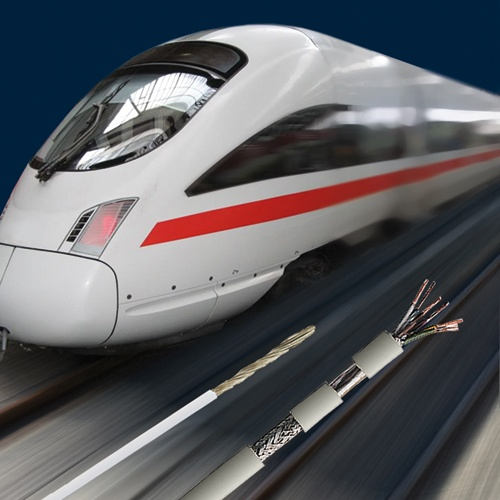 Bahnkabel und Leitungen spielen eine große Rolle, um die Herausforderung, denen sich die Bahnindustr...