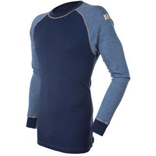 Janus Designwool trøye med rund hals er laget i fineste kløfri merinoull med detaljer fra vår nye st...
