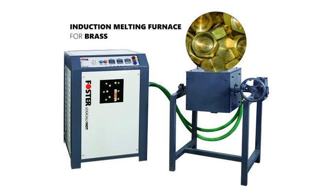 Product Details: Melting MaterialBrass Voltage220-380 V Melting Time30-60 mins BrandFoster Rated tem...