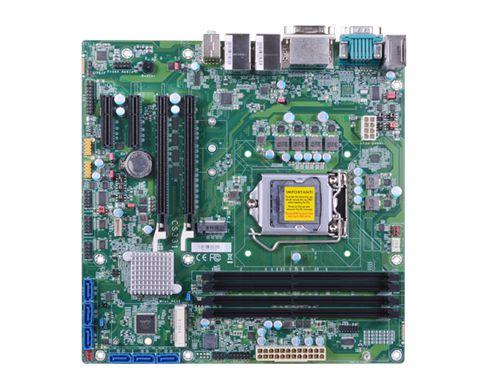 9th/8th Gen Intel® Core™ with Intel® C246 4 DDR4 ECC/Non-ECC DIMM up to 128GB Three display ports: D...