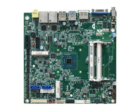 Three independent displays: DP++*/eDP + VGA + LVDS Multiple expansion: 1 PCIe x1, 1 Mini PCIe, 1 mSA...