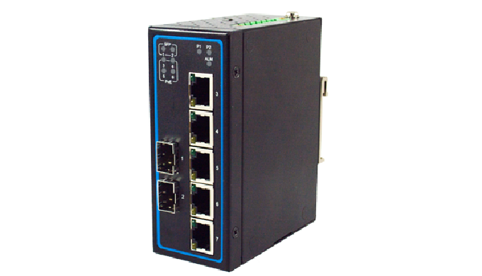 EHG7307 Series / Industrial Ethernet Switch / Advanced Unmanaged Switch