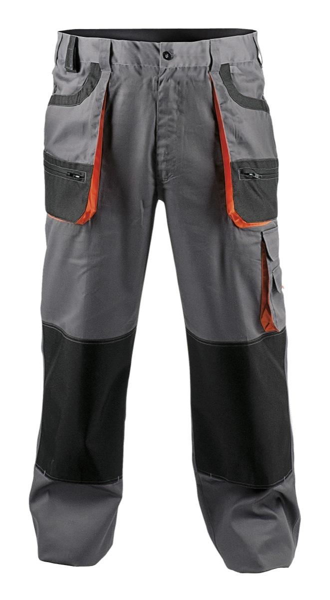 Montérkové kalhoty, montérky Kalhoty do pasu s multifunkčními kapsami, zesílením na kolenou s možnos...