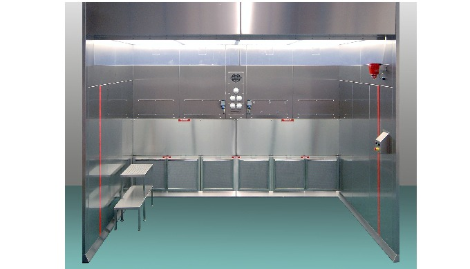 Hosokawa Downflow Booths offer a safe working zone for operatives. They provide protection from harm...