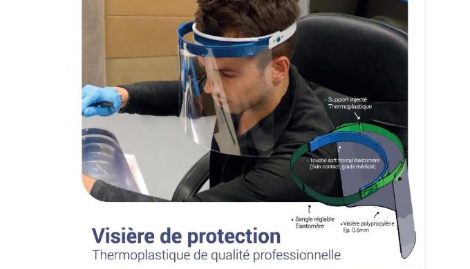 Visière de protection COVID 19 : disponibilité immédiate