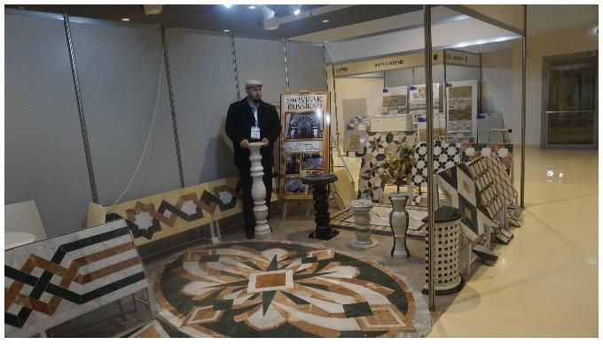 calepinage et décoration en marbre
