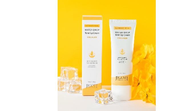 Jigott Ultimate Real Collagen Water Drop Tone Up Cream