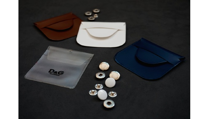 Button Pouches and Hang Tags