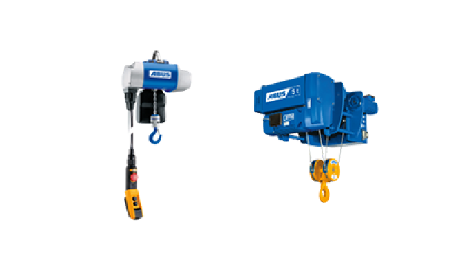 Chain hoists and Cable Winches
