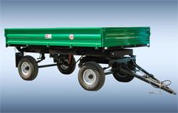Remorca pentru tractor autodescarcabila 2-PTS-4,5.