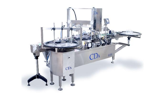 Conçue par la société CDA, la E-Fill est une chaîne de conditionnement automatique complète qui perm...