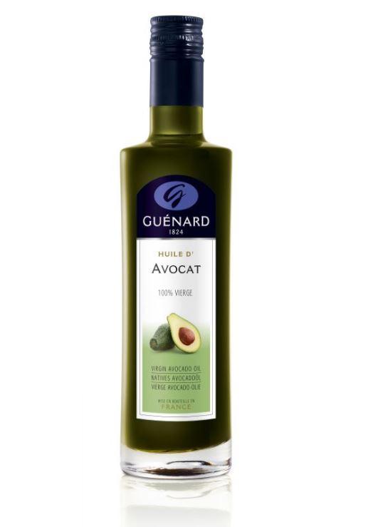 Achetez l'huile d'Avocat 100% vierge de chez Huile Guénard, une huile d'évasion et de gourmandise. E...