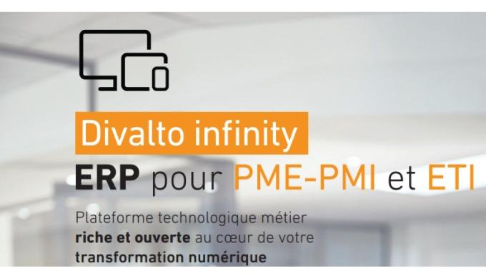 Solution ERP Divalto infinity pour PME/PMI/ETI