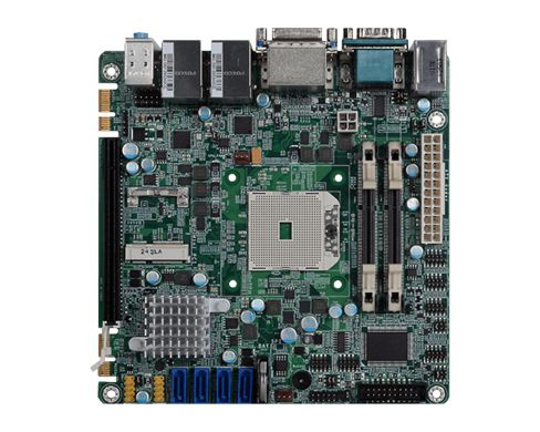 Rich I/O: 2 Intel GbE, 6 COM, 4 USB 3.0, 6 USB 2.0 Expansion: 1 PCIe x16, 1 Mini PCIe, 2 DFI Proprie...
