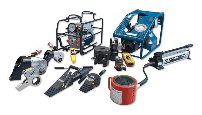 Hydraulisk værktøj Hydraulisk specialværktøj til krævende opgaver fra store internationale anerkendt...