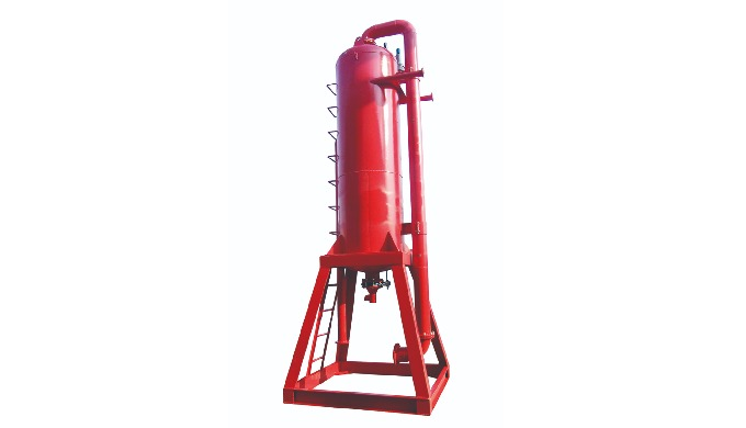 Mud gas separator is a special equipment to handle the invaded gas in drilling fluid. When drilling ...