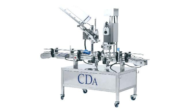 Conçue par la société CDA, la Cap System est un monobloc de distribution et de sertissage de capsule...