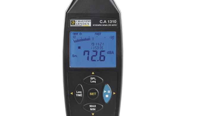 Sonomètre intégrateur Classe 2 selon la norme IEC 61672-1, le CA 1310 est l'instrument idéal pour me...