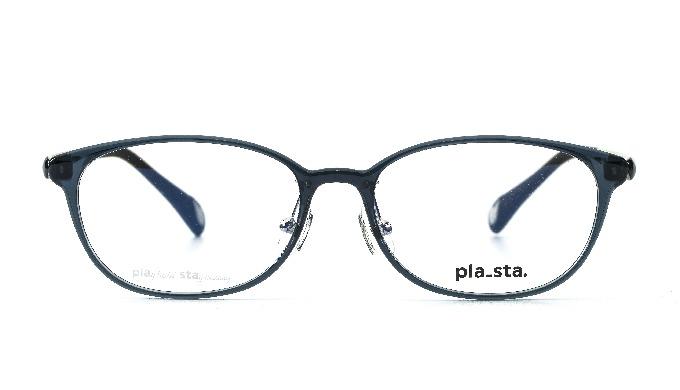 PLASTA / PS-102 Col.84 Blue Gray / Classic / Korea glass