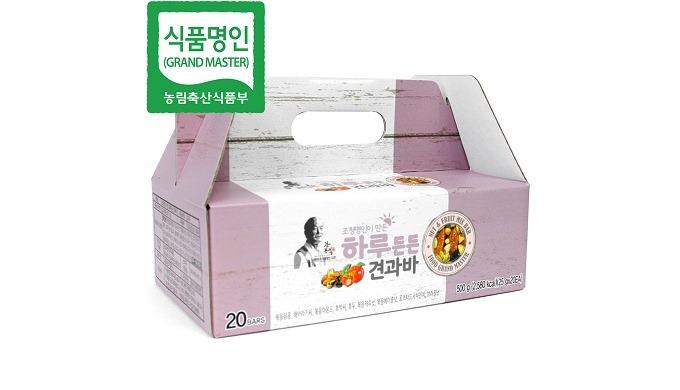 Barre de mélange de fruits et de noix de renforcement quotidien | Barre d'énergie