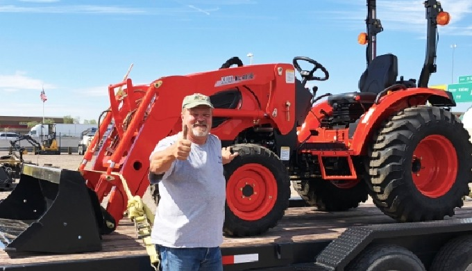GEAR & GO VALUE OFFER - TRACTOR, TRAILER & ATTACHMENTS! New Kioti CK2610H-TL 4x4 TRACTOR and LOADER ...