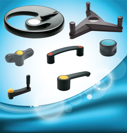 The Elesa Ergostyle® range of standard machine components has been conceived for a broad spectrum of...