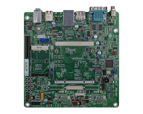 Q7X-151(R.A) | Carrier Board | Mini-ITX | Qseven | DFI