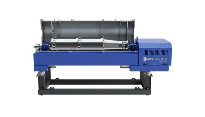 Součástí výroby naší strojírenské divize jsou i vyráběné dekantační odstředivky pro čistírny odpadní...