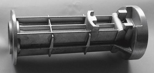 Gewicht: 1.071g Legierung: AlSi12(Cu) / EN AC-47000