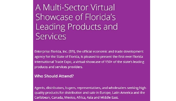 A Multi-Sector Virtual Showcase of Florida's Leading Products and Services
