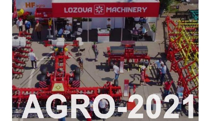 Новинки, поновлення і модифікації LOZOVA MACHINERY на AGRO-2021