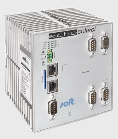 Echocollect: Pasarela para integración de datos de PLCs