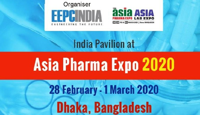 India Pavilion at Asia Pharma Expo 2020