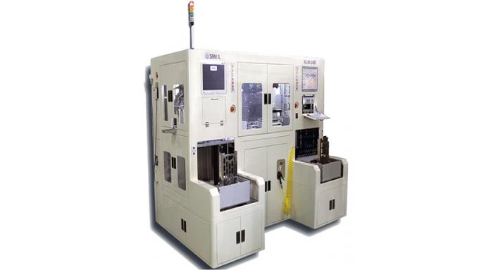 Sistema di marcatura laser a strisce