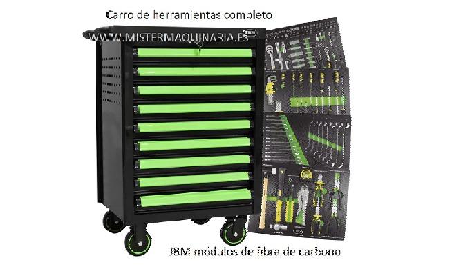 CARRO DE HERRAMIENTA COMPLETO JBM Y REGALO