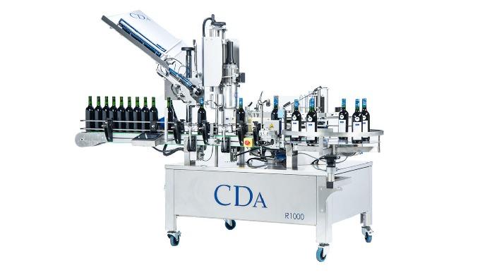Conçues par la société CDA, les étiqueteuses automatiques de la Gamme R1000 - R1500 permettent l'éti...