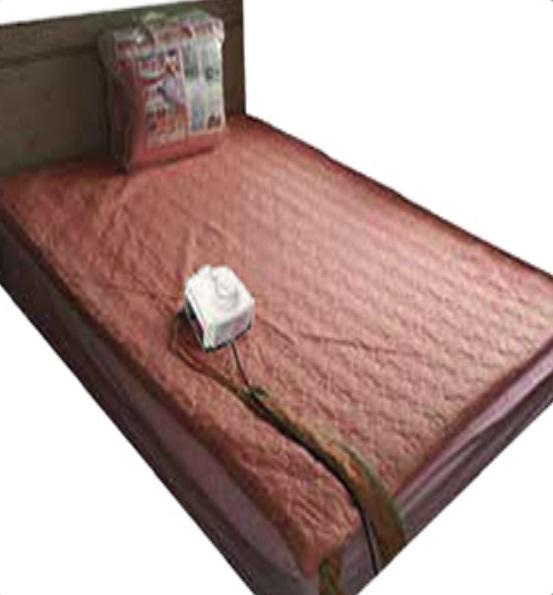 Hot water met for bed