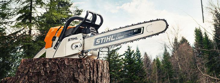 STIHL ist die weltweit meistverkaufte Benzin-Motorsägen-Marke. Und das aus gutem Grund. Denn jeden T...