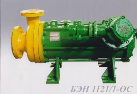 Электронасос центробежный герметичный одноступенчатый БЭН1121/1-ОС