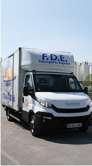 F.D.E.Transports, nous vous offrons des services de livraisons pour vos marchandises à la destinatio...