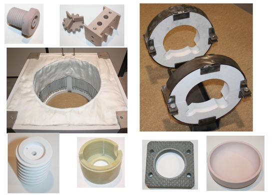 Isolation thermique :- Collerettes SANPON pour le supportage isolant de tuyauteries, pompes, pieds d...