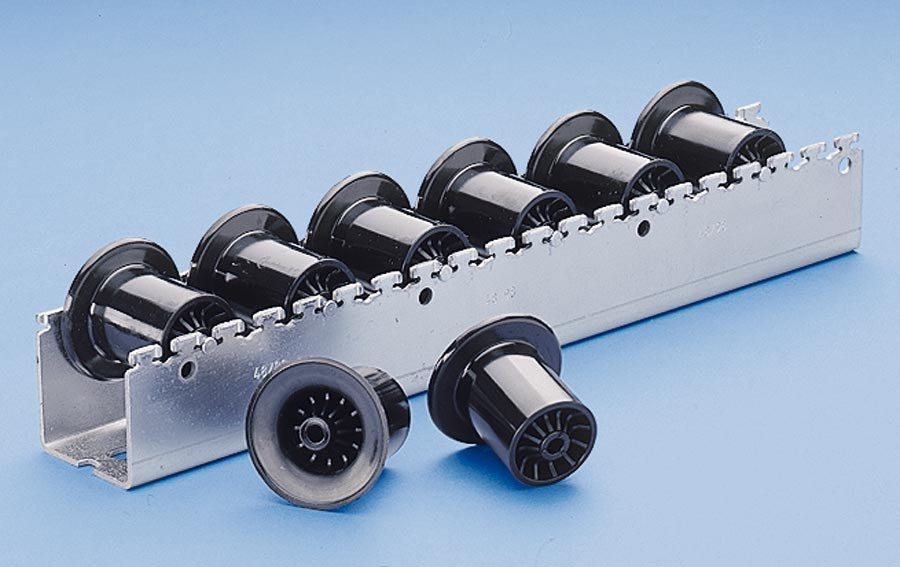 Ø 46 mm / Rollenteilung 96 mmDie rationelle Arbeitsplatzverkettung in Produktion, Endmontage, Lager ...