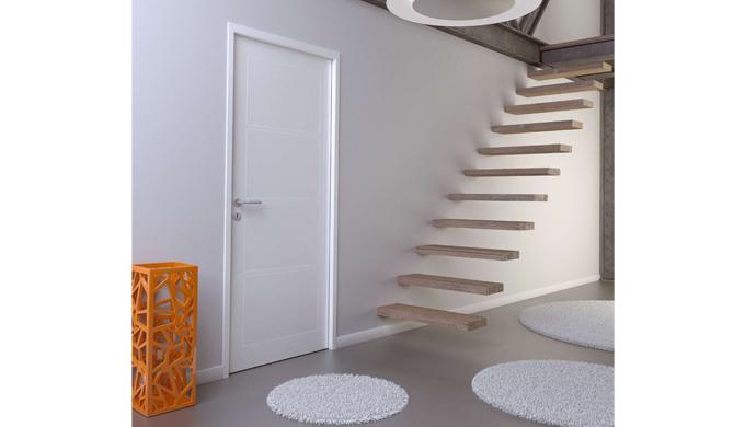 Portes isothermes : • Portes isothermes stables avec raidisseur intégré et âme isolante en polystyrè...