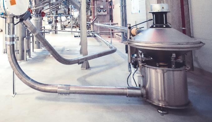 Sistemi di setaccio delle polveri per garantire la sicurezza alimentare, per linee pneumatiche, in g...