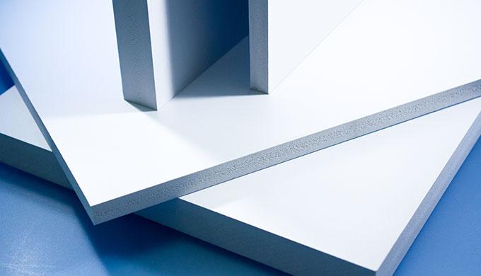 Plaque Pvc Expansé Type Komacel Par Abaqueplast