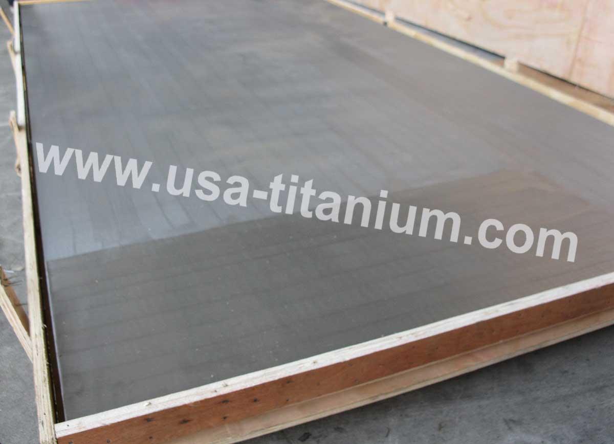 USTi Titanium Clad Steel Plate / Sheet / Tube Sheet